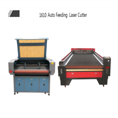 1610 Auto feeding laser cutting & engraving